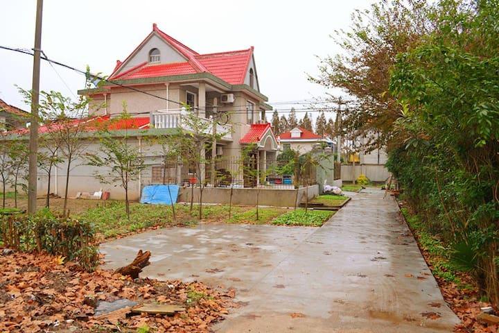 上海后花园【崇明文佳农家乐】,温馨舒适的环境,放松身心好去处~*