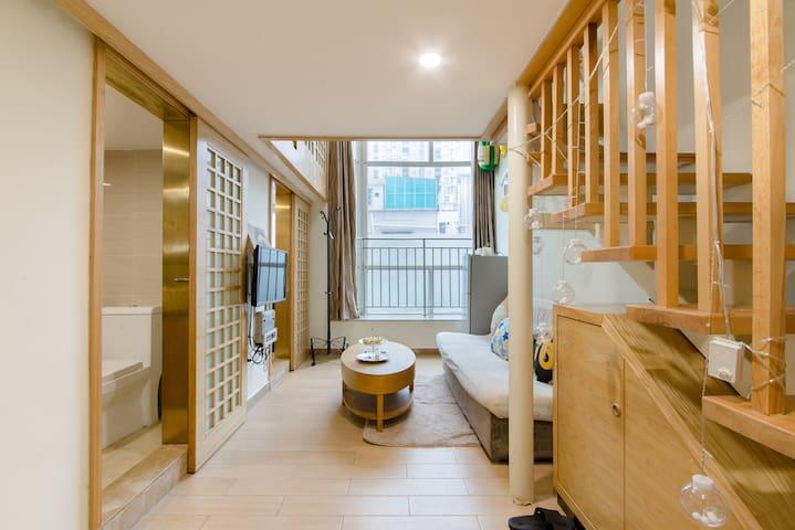 促销优惠~罗湖口岸旁有点不错的日式风格复式公寓