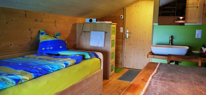 Kleines Zimmer mit Aussicht