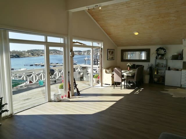 Apartment with great view and balcony (Fr.Stad) - Fredrikstad - Wohnung