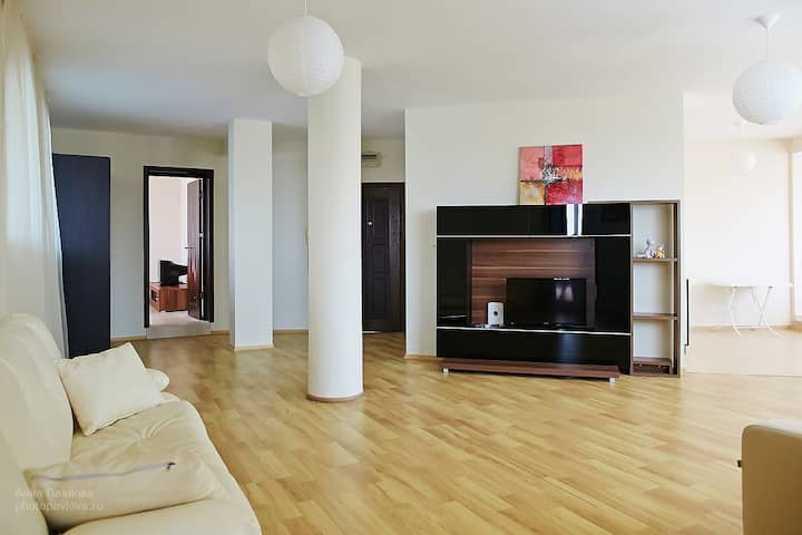 Просторная квартира 120 кв м, 2 отдельные спальни