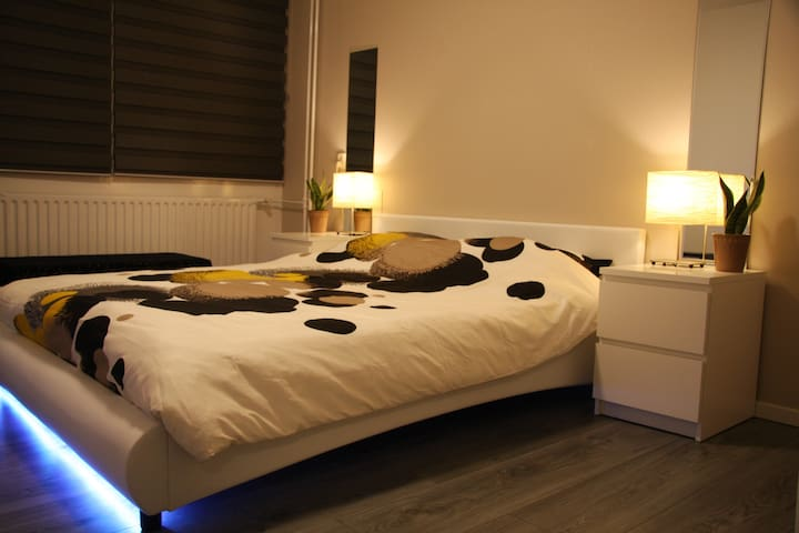 Nice bedroom, 1 or 2 persons (short or long stay) - Eindhoven - Ház
