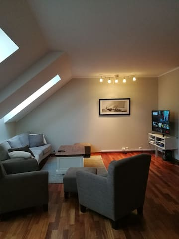 Modern and spacious appartment in downtown Farsund