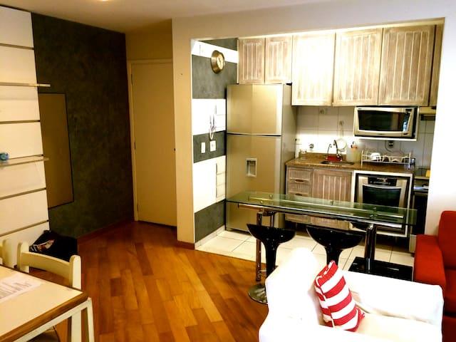Moderno, equipado, confortável e bem localizado! - São Paulo - Leilighet