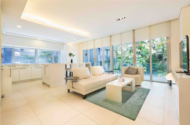 Green Luxury Home@ Orchard Road, Terrace 2BR
