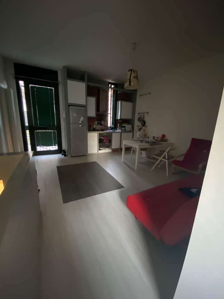 cozy two flat home in milan center with garden