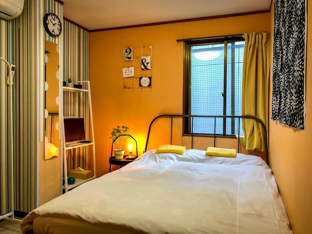 Near the Shinjuku :: Cozy Double Bed