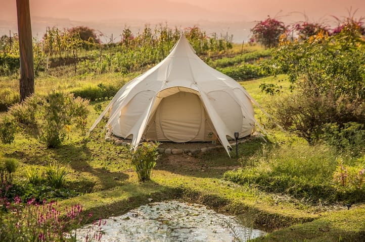 Kinkara Signature Lotus Belle Tent (One Double Bed)
