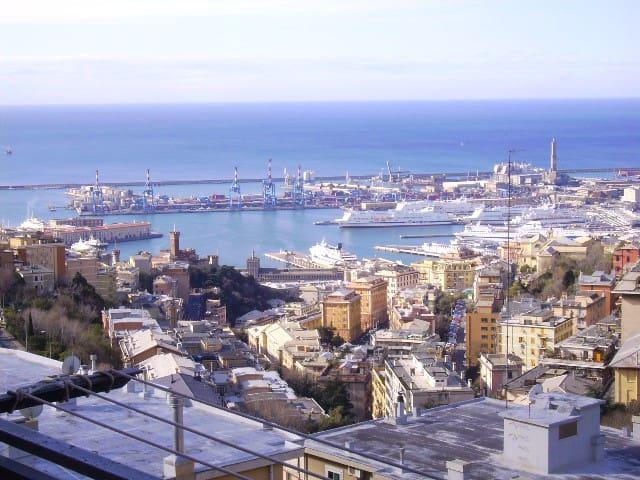 Ampio appartamento vista mare - Genova - Huoneisto