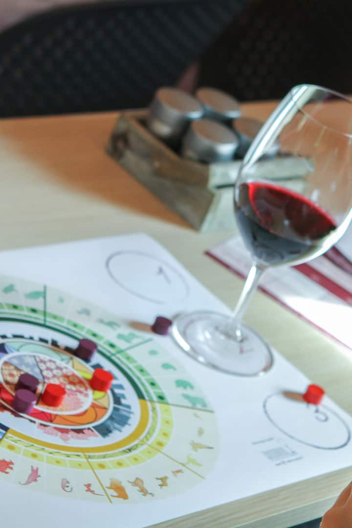 book now your Wine Sensory Game!