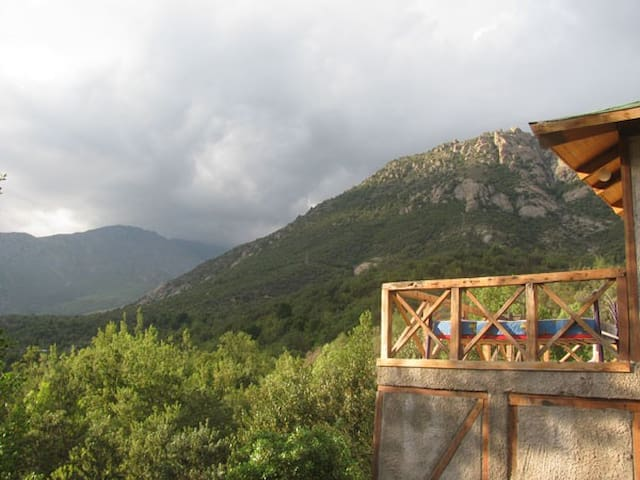 Cabaña de Montaña Zona de Escalada Los Manyos - San José de Maipo - Szállás a természetben