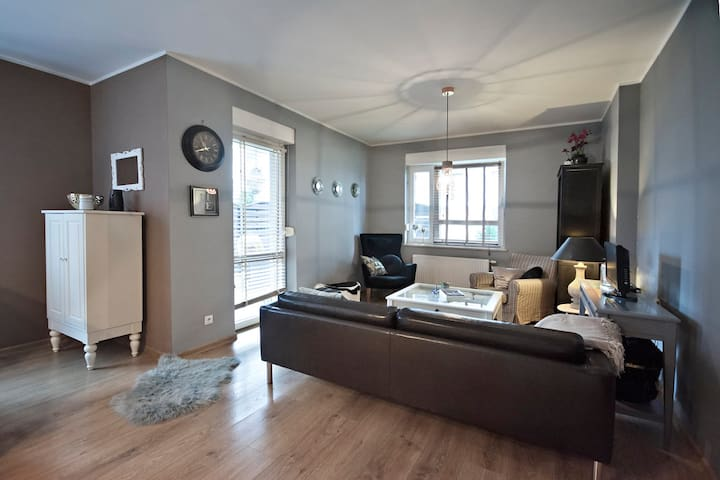 Relaxed apartment with garden near Lodz Airport