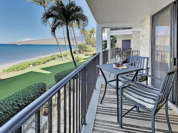 Direct Oceanfront on Maui's Finest Sugar Beach!