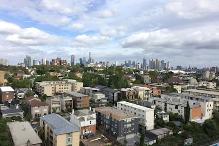 City Views From Cozy Apt In Trendy Area - South Yarra