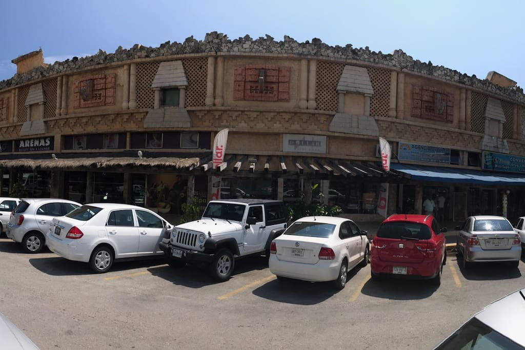 Vista Desde Blvd Kukulkan