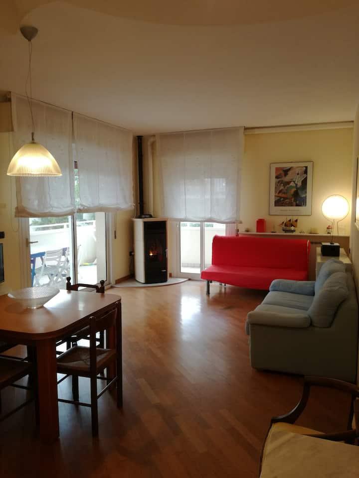Appartamento a Riccione vicino a impianti sportivi