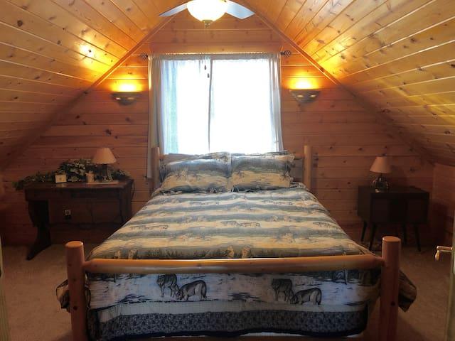 3rd story loft bedroom