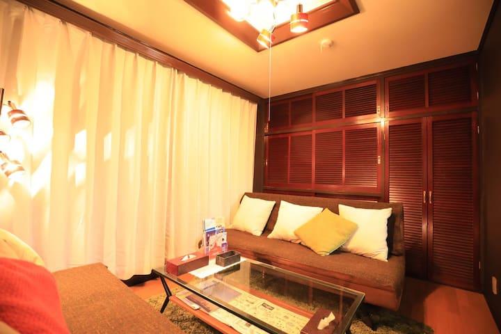 Room 1:温馨舒适的环境,便于您休息。
