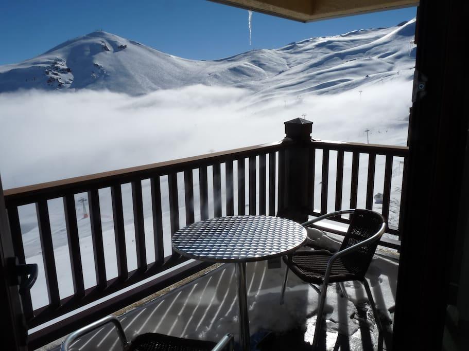 Balcon Vista Pistas de Valle Nevado