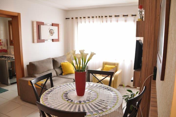 Belíssimo apartamento para locação de temporada!