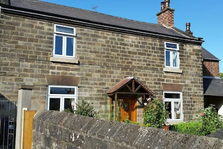 Character (18c) cottage: edge of historic Belper - Belper