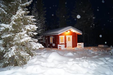 Ferienhaus in schwedisch-Lappland