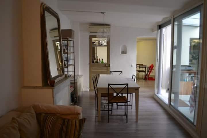 chambres dans appartement  coeur de Marseille