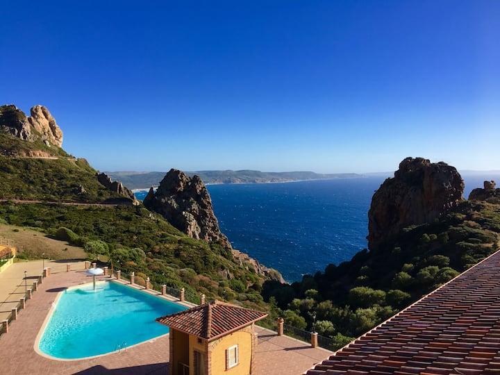 Il Veliero Tanca Piras piscina+vista mare+6 posti