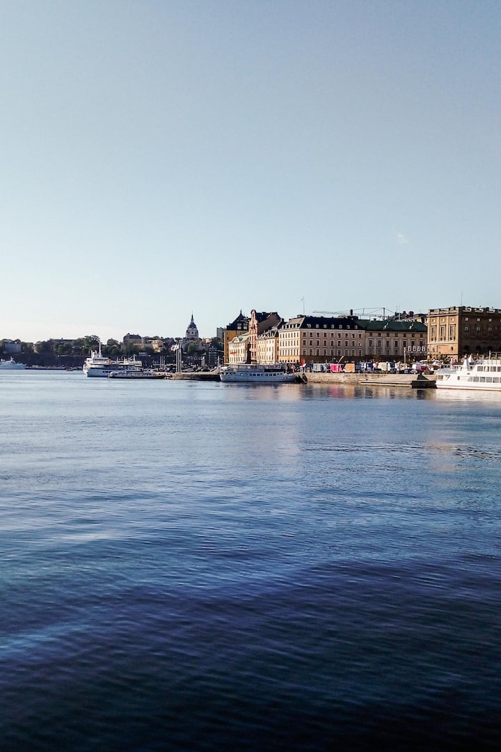 Stockholm is beautiful ...