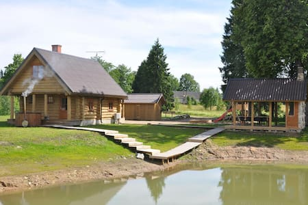 Paluküla Country Cottage with sauna, hot-tub, BBQ