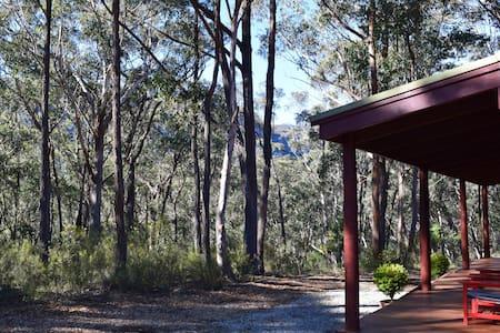 Werriberri - Thomas Jones Cottage - Megalong Valley - Blockhütte