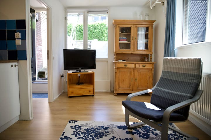 Living room, view on the street