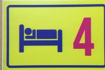 койко место в 4 м номере в хостеле Скандинавия - Vyborg