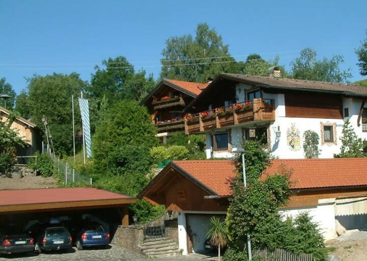 #2 Nähe Hohenschwangau, Super Bergblick v. Balkon