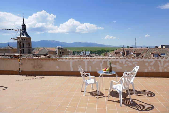 Magnífico piso céntrico con terraza