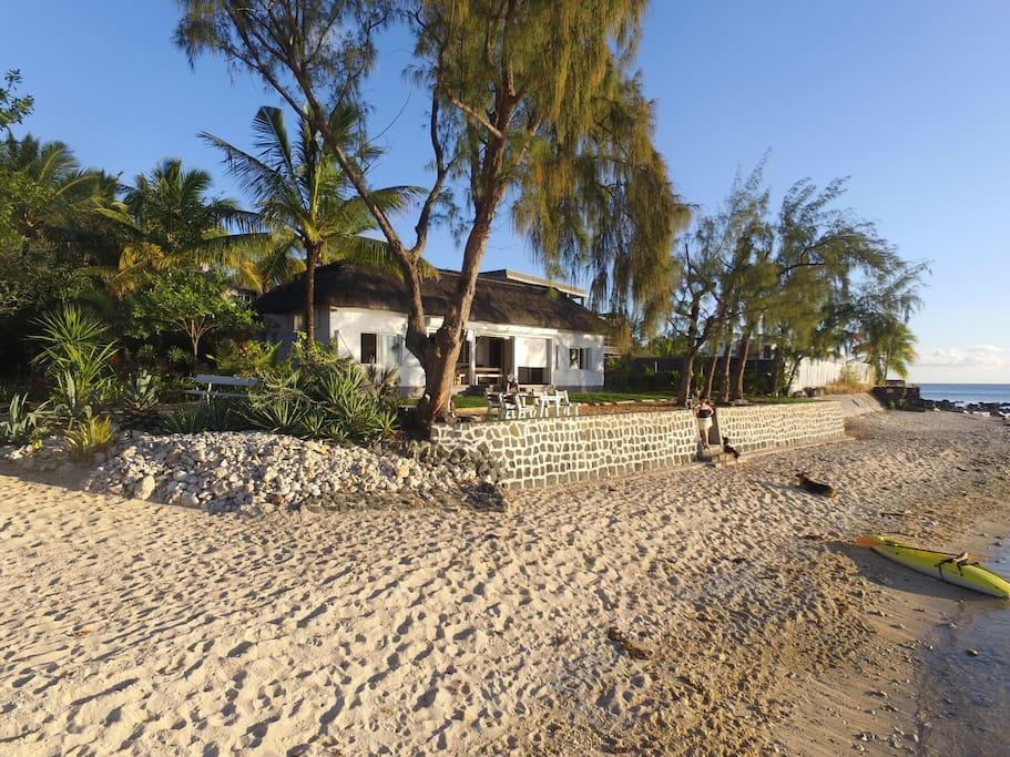 La voli re est un campement typiquement mauricien for Campement a louer a maurice avec piscine