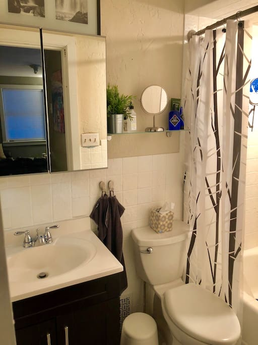 Renovated Bathroom w/Amenities