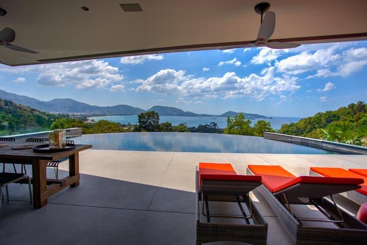 ⭐The Seascape Villa 3BR w/Infinity Pool&Ocean View
