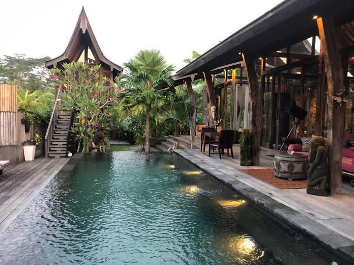 The Ship House / unique private villa in Ubud