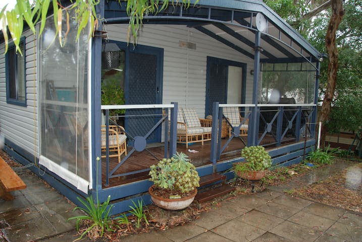 Large, fully self contained Cabin at Jan Juc