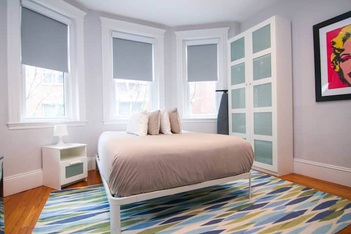 A Stylish Stay w/ a Queen Bed, Heated Floors; #14