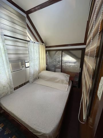Bedroom 1 w/ Aircon and Fan