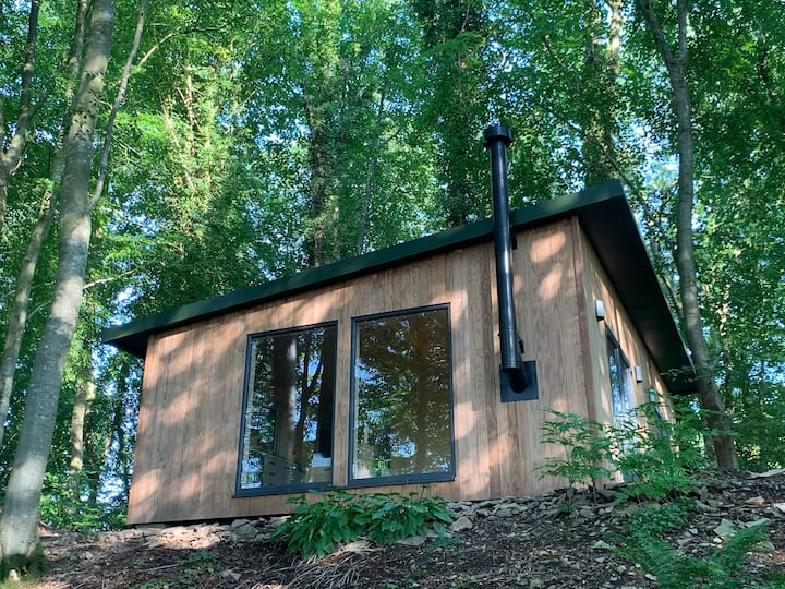 Treetop Lodge in Kirkcudbright