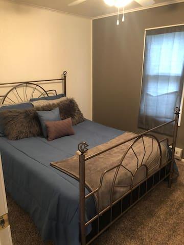 Bedroom #1.  Queen