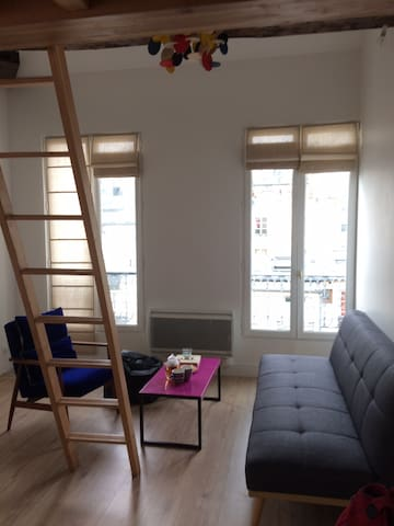 Lovely Parisian flat in the 9th district