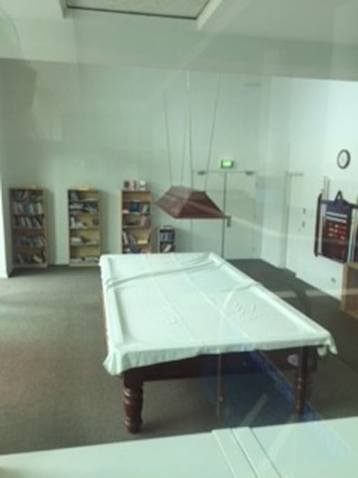 Billiard and Library room