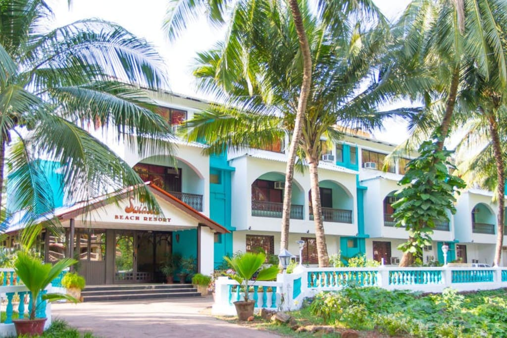 Front View of the Resort