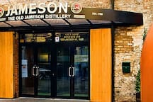 Jameson Distillery - 1 minute walk on Smithfield Market Square (opposite the apartment)