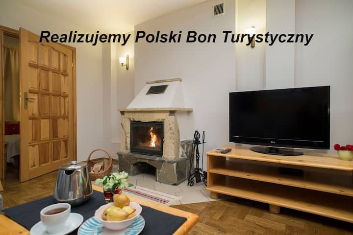 2Bedroom Apartment with a Fireplace