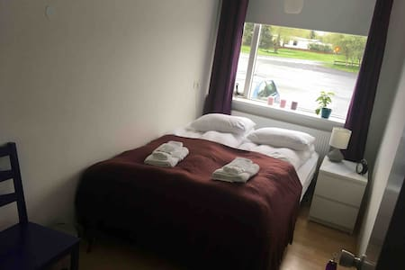 Cozy bedroom in central Selfoss #room1
